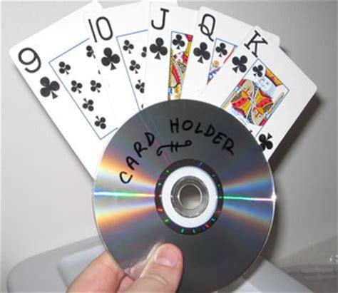 craft cds card card holder from cds thriftyfun