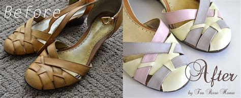 angelus paint tutorial shoe makeover how to paint leather shoes