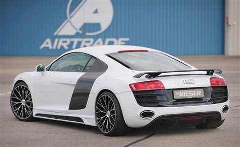 Audi R8 Spoiler by Rieger Pur Fits Audi R8 Rear Wing 55610 Ebay