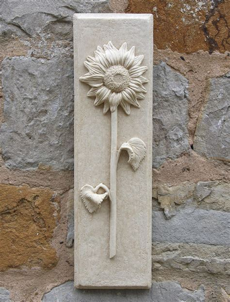 garden wall plaques sunflower wall plaque garden wall plaques buy floral