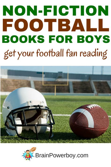 football picture books great non fiction football books for boys