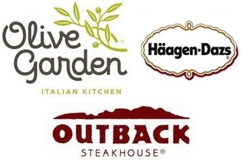 restaurant deals olive garden outback steak house haagen dazs