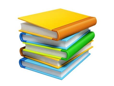 3d picture books 3 stacks of books 3d png icons welovesolo