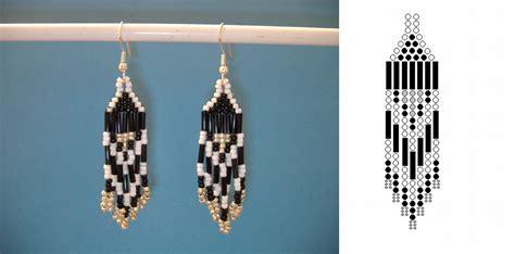free seed bead earring patterns 15 diy seed bead earring patterns guide patterns