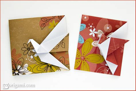 how to make origami birthday cards origami animals and characters gallery go origami