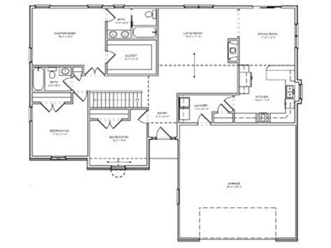 simple 4 bedroom floor plans simple 3 bedroom house floor plans 4 bedroom house single