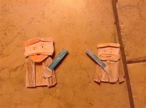 how to make an origami obi wan kenobi which obi wan origami yoda