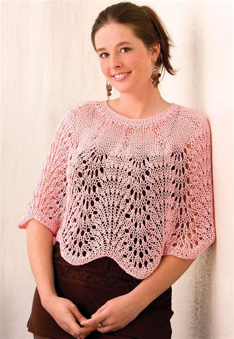 free knit poncho patterns capelet knitting patterns in the loop knitting