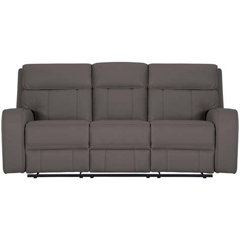 grey microfiber sofa city furniture rhett gray microfiber reclining sofa