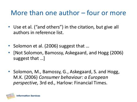 one author citing referencing harvard