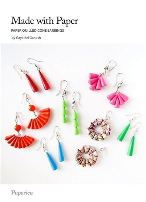 quilled jewelry tutorials step by step 25 unique paper quilling jewelry ideas on diy