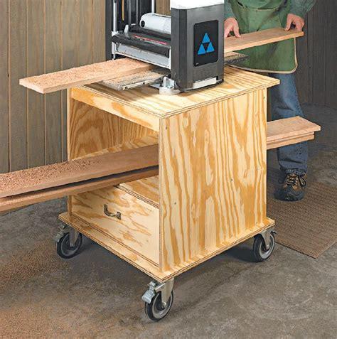 woodworking cart shop cart woodsmith shop tools jigs techniques