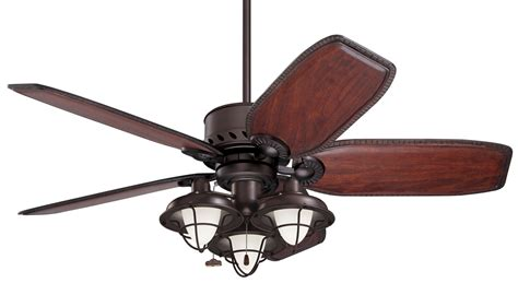 ceiling fan with cage light emerson lk40 boardwalk cage transitional ceiling fan light