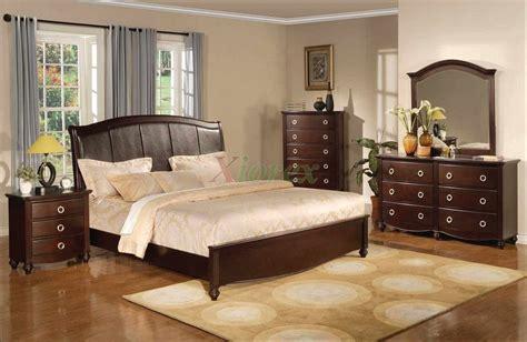 bedroom set with leather headboard platform bedroom furniture set with leather headboard 133