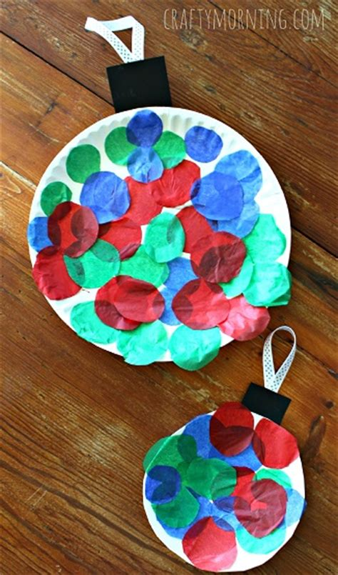 craft ornament paper plate ornament craft for crafty morning