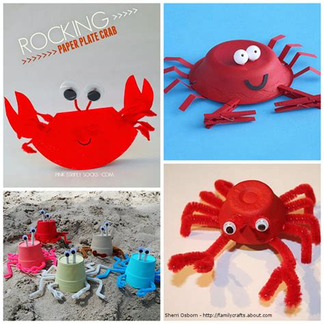 summer craft ideas for to make crab crafts for to make this summer crafty morning
