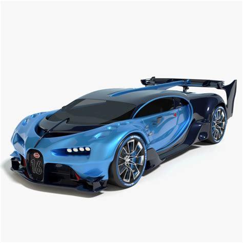 2016 Bugatti Vision by 3d 2016 Bugatti Vision Gran Model