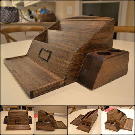 woodworking plans desk organizer wooden poplar desk organizer woodworking projects