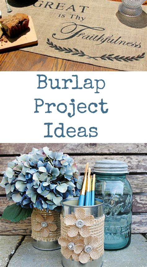 craft projects using burlap burlap project ideas the graphics