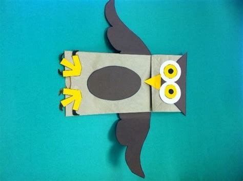 dltk craft for paper bag puppets owl paper and paper bags on