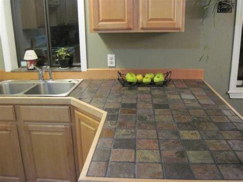 kitchen tile countertop ideas slate kitchen countertops