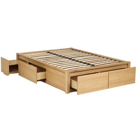size platform bed frame with drawers diy king size platform bed storage nortwest woodworking