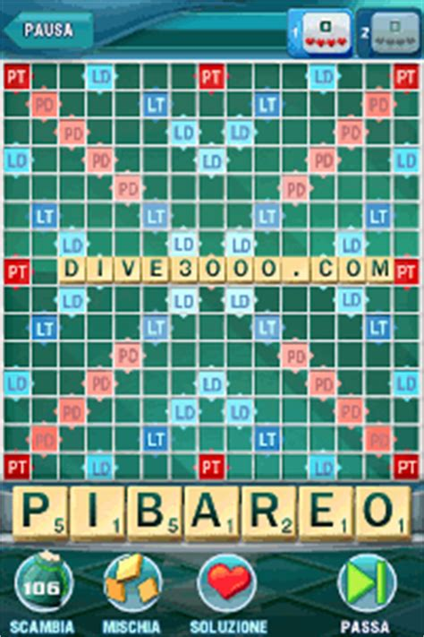 scrabble multiplayer scrabble scarabeo in multiplayer