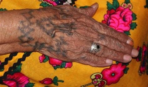 the story of algeria s traditional tattoos pictures