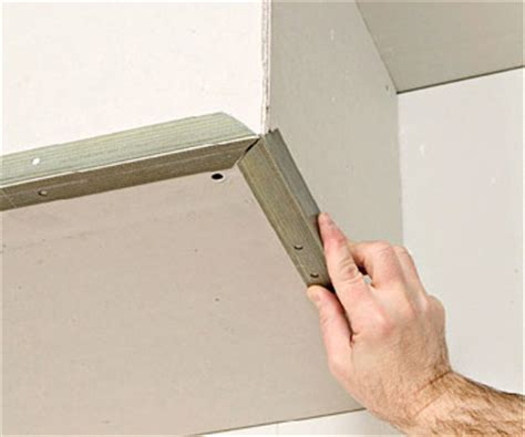 how to install corner bead two and three way corners drywall installation repair