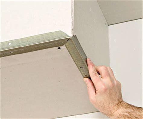 install corner bead drywall repair drywall repair corners
