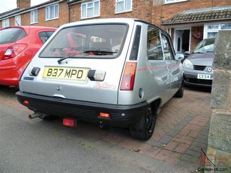 Renault Le Car Turbo by 1985 Renault 5gd Turbo Silver Gordini Turbo Le Car 2 Turbo