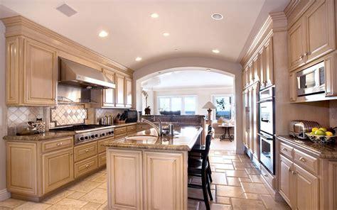 luxury kitchen big luxury kitchen interior design hd wallpaper