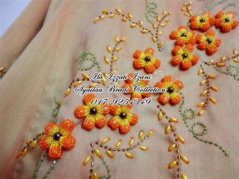 bead embroidery flowers how to bead embroidery flower simple craft ideas