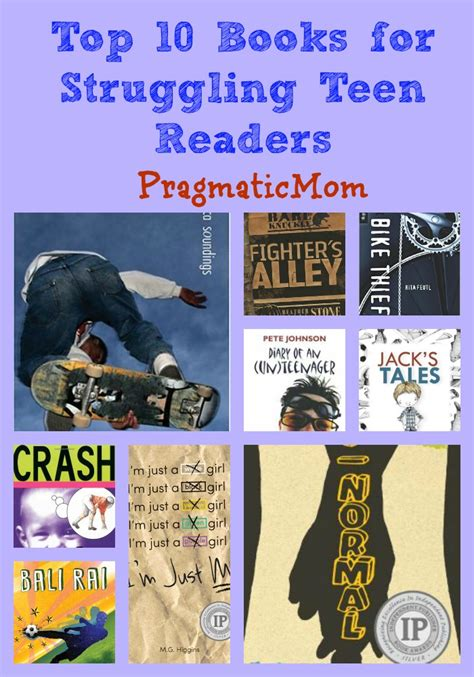 top ten picture books top 10 books for struggling readers pragmaticmom