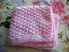 easy prem baby knitting free pattern box stitch preemie baby blanket 16 x14 premature baby