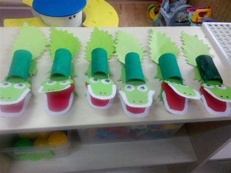 paper crafts for kindergarten toilet paper roll animal craft idea for crafts and