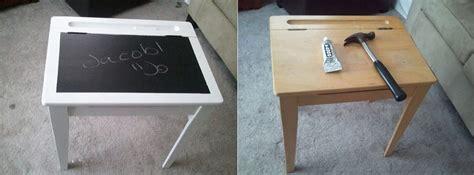 diy chalkboard desk chalkboard desk home decorating trends homedit