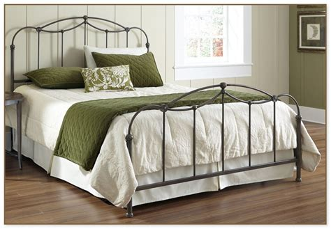 iron bed frame king wrought iron bed frame king image for hanging bed