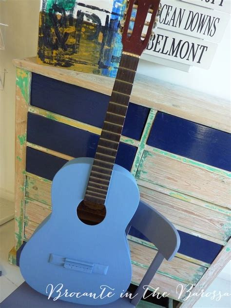 chalk paint guitar 17 best images about blue chalk paint 174 projects on
