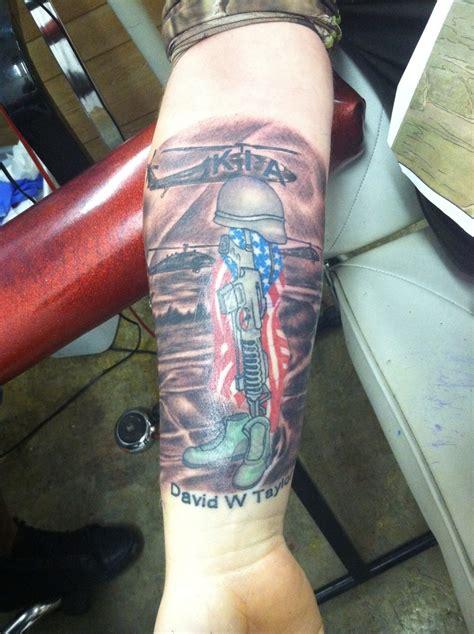 military memorial tattoo never forgotten art for dan