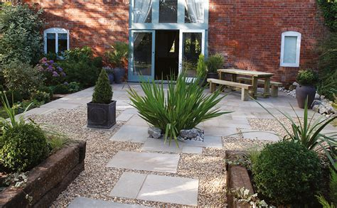 paving and gravel garden ideas 20 tips for beautiful garden borders real homes