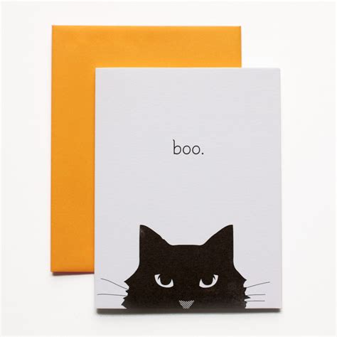 how to make a cat card boo cat card day press