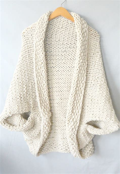 knit a sweater easy knit blanket sweater pattern in a stitch