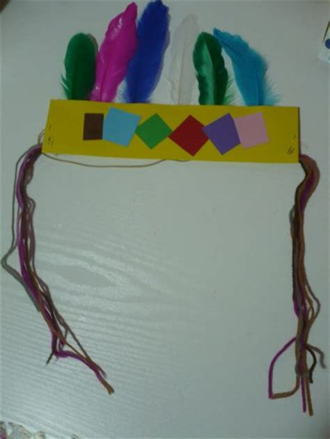 indian craft for indian headband family crafts