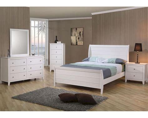 coaster furniture bedroom sets coaster furniture bedroom set in white selena co400231set