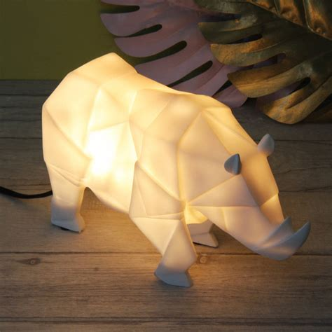 origami safari animals origami safari animal light by