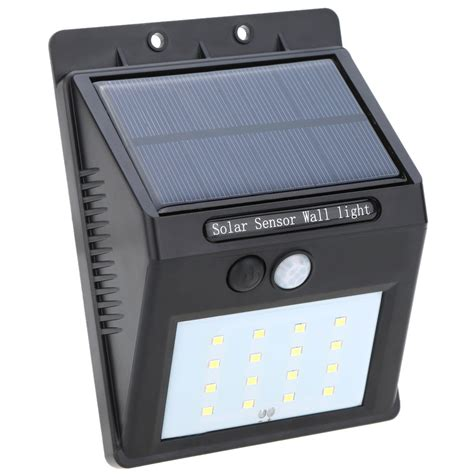 solar pir lights solar powered led pir sensor light