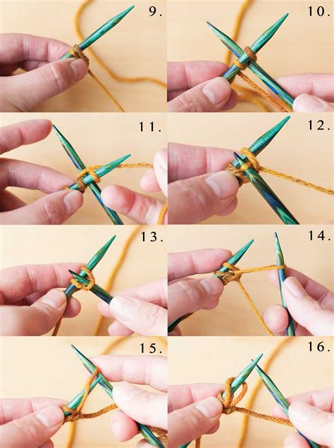 how to knit cable cast on necessary knitting learn the cable cast on step by step