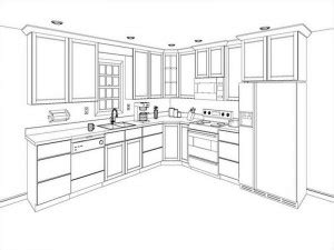 how to plan a kitchen cabinet layout free 3d kitchen cabinets designer planner solid wood