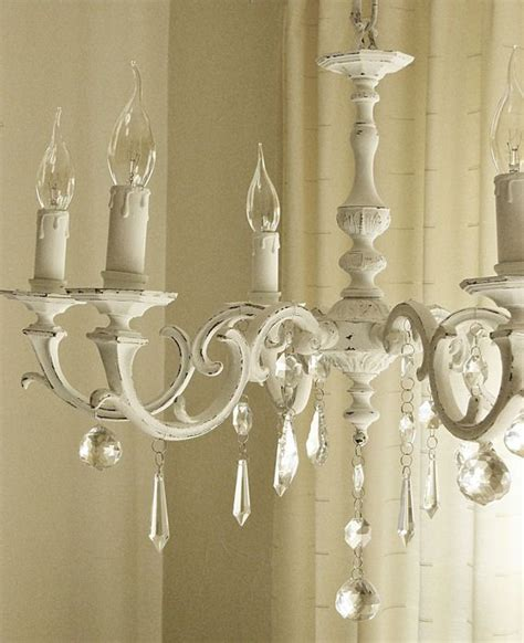 shabby chic white chandelier best 25 shabby chic chandelier ideas on